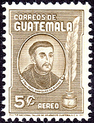 Sketch by Father Rafael Maria Landívar on Guatemala Scott C269