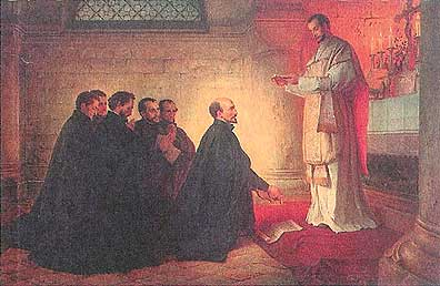 an analysis of the society of jesus The society of jesus, the name for the grouping of priests founded by st ignatius loyola in 1540, count among their ranks professors, doctors, lawyers, social workers and now a pope.