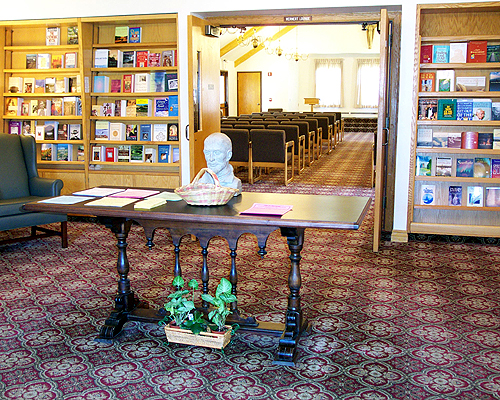 Front Lobby and Bookstore